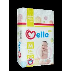 Mello Трусики M (6-10кг) 56 шт
