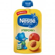 """Nestle Пюре детское """"Персик"""" с 4 мес 90 гр"""