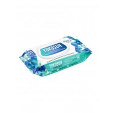YokoSun Салфетки влажные антибактериальные 54 шт