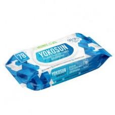 YokoSun Влажная туалетная бумага д/интимной гигиены 78 шт