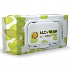 Lovular Фито-салфетки влажные д/ухода за детской кожи 80 шт