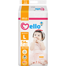 Mello Подгузники L (9-14кг) 54 шт