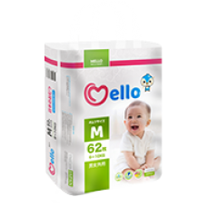 Mello Подгузники M (6-10кг) 62 шт