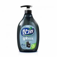 CJ Lion Cредство для мытья посуды Chamgreen Древесный уголь 1000 мл с дозатором